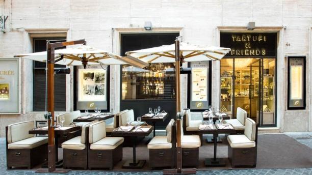 Tartufi&Friends Roma La terrazza esteriore