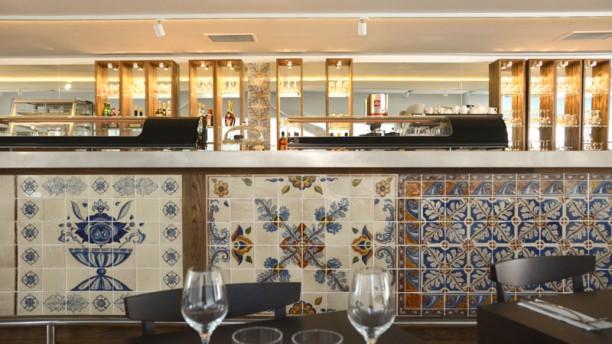 Le Café des Méditerranées vue bar