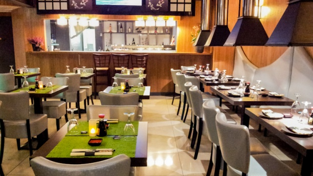 Wasabi Sushi & Grill Vue de la salle