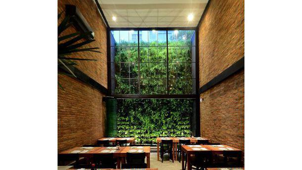 Villa Roma Pizza - Jardins Interior