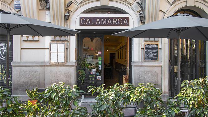 Fachada - Calamarga, Barcelona