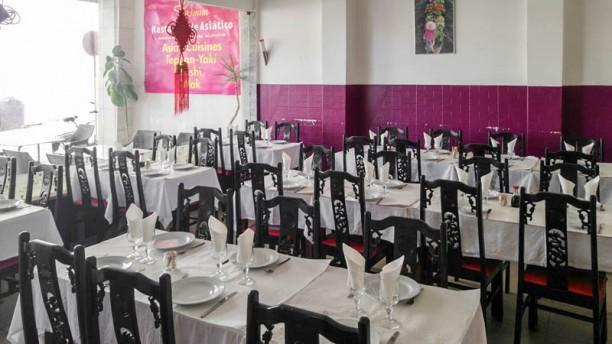 Jasmim Restaurante Asiático Vista da sala