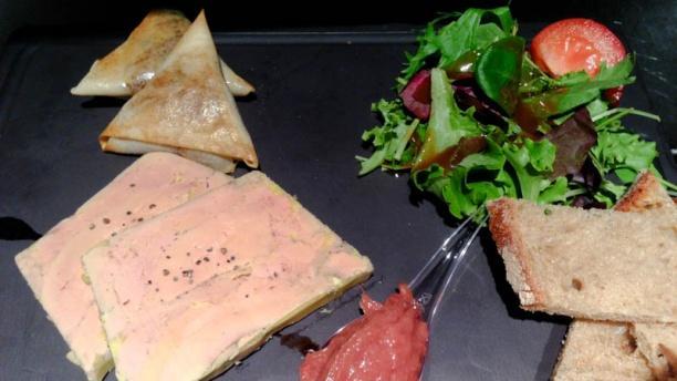Dupont Café Sébastopol Planche de foie gras