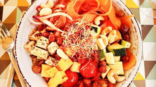 une de nos salades d'été - L'Eden Sans Gluten, Strasbourg