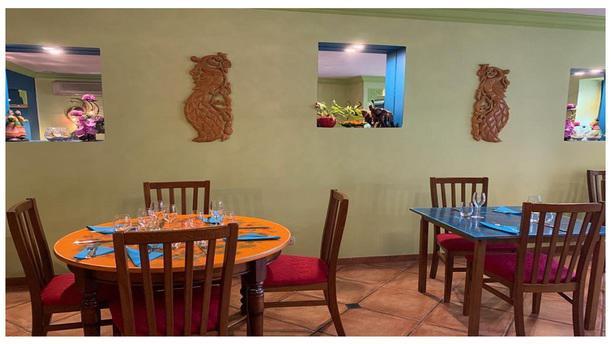 Le Maharajah Salle du restaurant