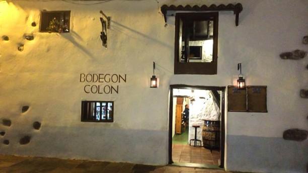Bodegón Colón Vista entrada