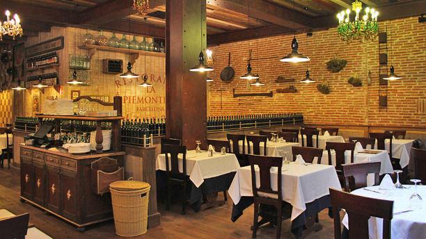 Restaurante la piemontesa barcelona en barcelona paseo - Restaurantes en paseo de gracia barcelona ...