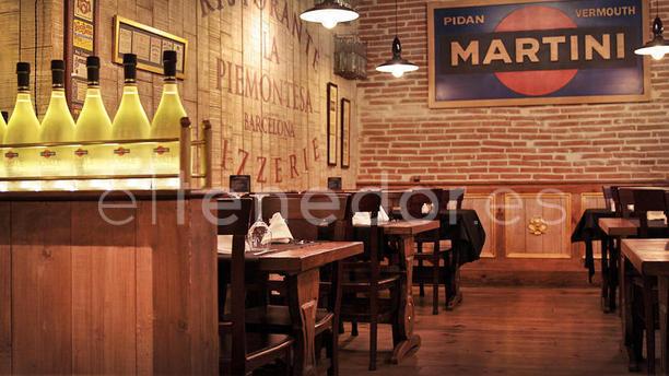 Restaurante la piemontesa barcelona en barcelona paseo de for Escoles de disseny d interiors a barcelona