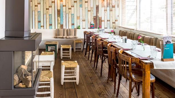 Eb & Vloed Het restaurant