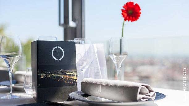 Restaurant Christian Tetedoie Vue de la salle