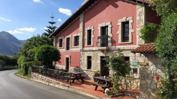 Restaurante Hotel Rural La Curva Vista Principal del Restaurante
