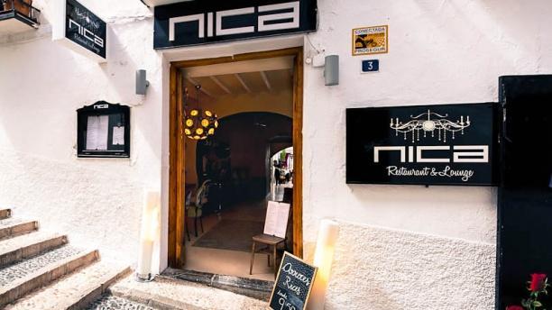Nica Restaurant entrada del restaurante