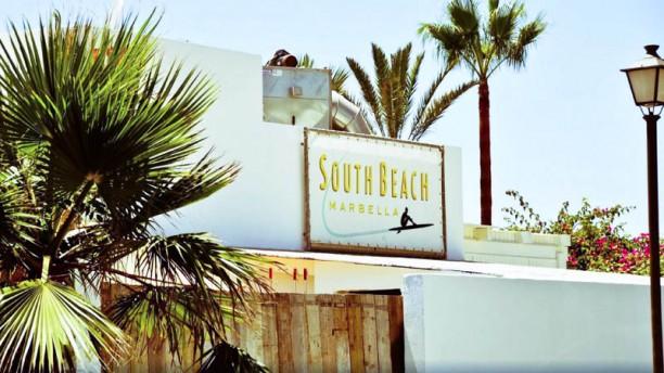 South Beach Marbella La fachada
