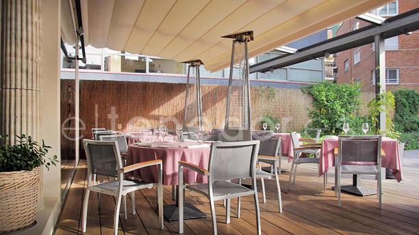 Restaurante dop en barcelona men opiniones precios y reserva - Precio toldos terraza barcelona ...