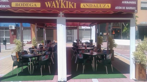 Waykiki Vista terraza