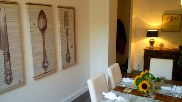 La Serviette Blanche Chef's Table Vue de la salle