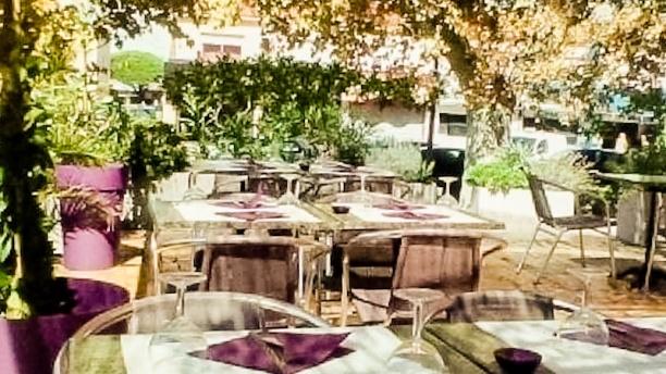 Le Florilège notre terrasse